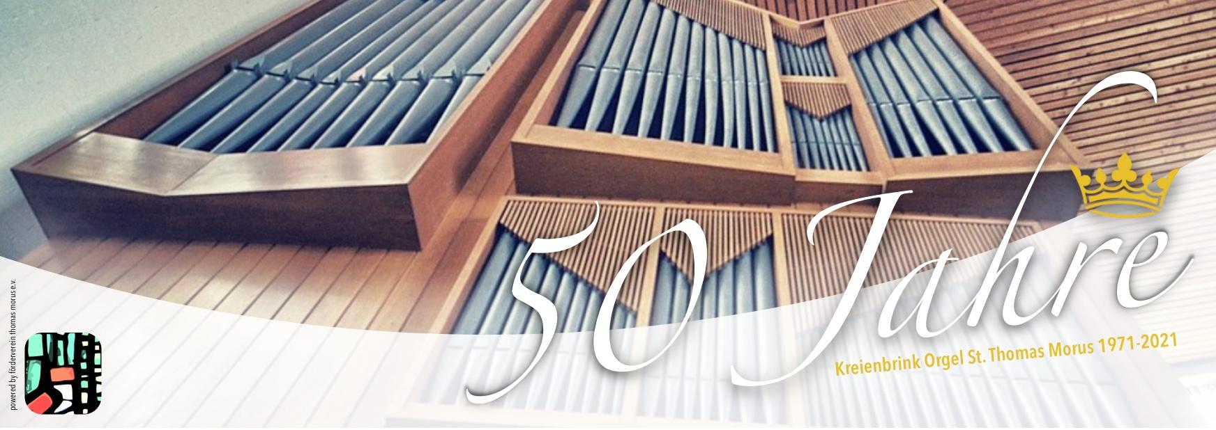 50 Jahre Kreienbrink Orgel 1971-2021