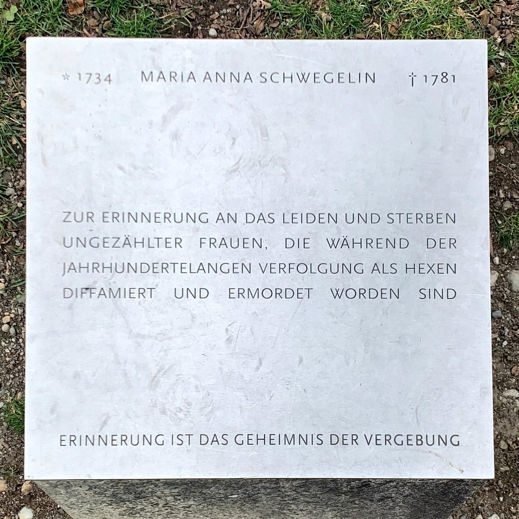 Gedenktafel an der ehem. fürstäbtlichen Residenz in Kempten