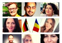 Karsten Kopp, Roland Covaci, Bahar Özer, Amalia Bulla-Garlonta, Stefania Pop, Razvan Cazan, Eva Covaci, Gülsen Tor (v.l.n.r.)
