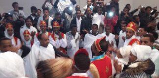 Lebensfreude: Eritreisch-orthodoxe Abune Aregawi Gemeinde