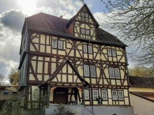 Das alte Haus in der Burgstrasse