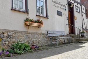 Eingang zum alten Rathaus heute Heimat Museum