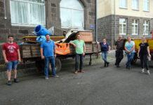 Ein ganzer Anhänger voll Abfall, Bauschutt und Sperrmüll kam zusammen