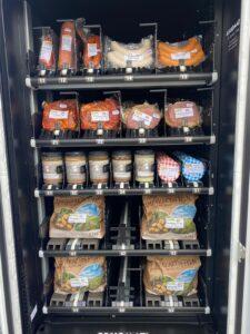 Arnold`s Regiomat gefüllt mit regionalen Produkten