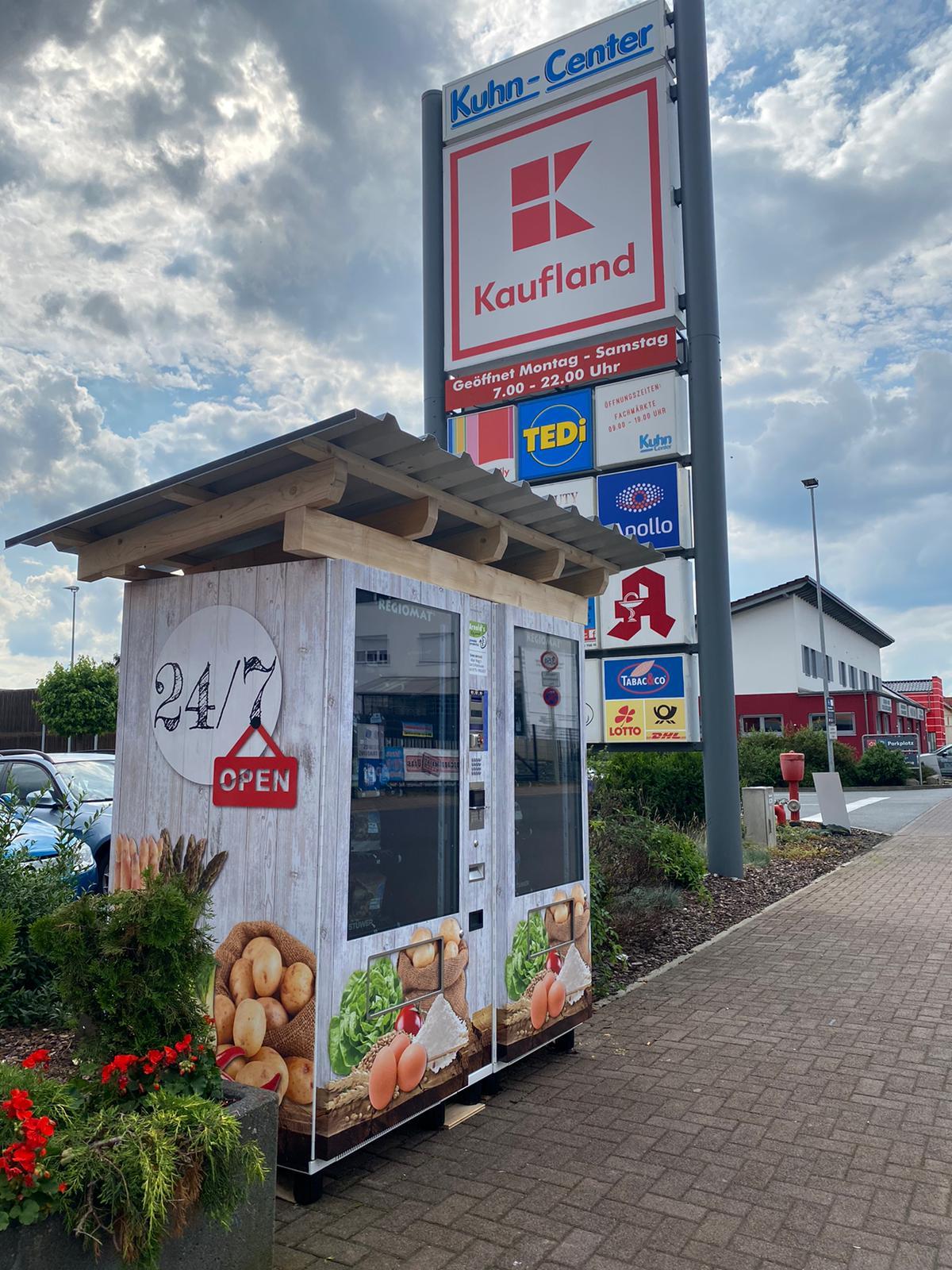 Anhold`s Regiomat mit regionalen Produkten