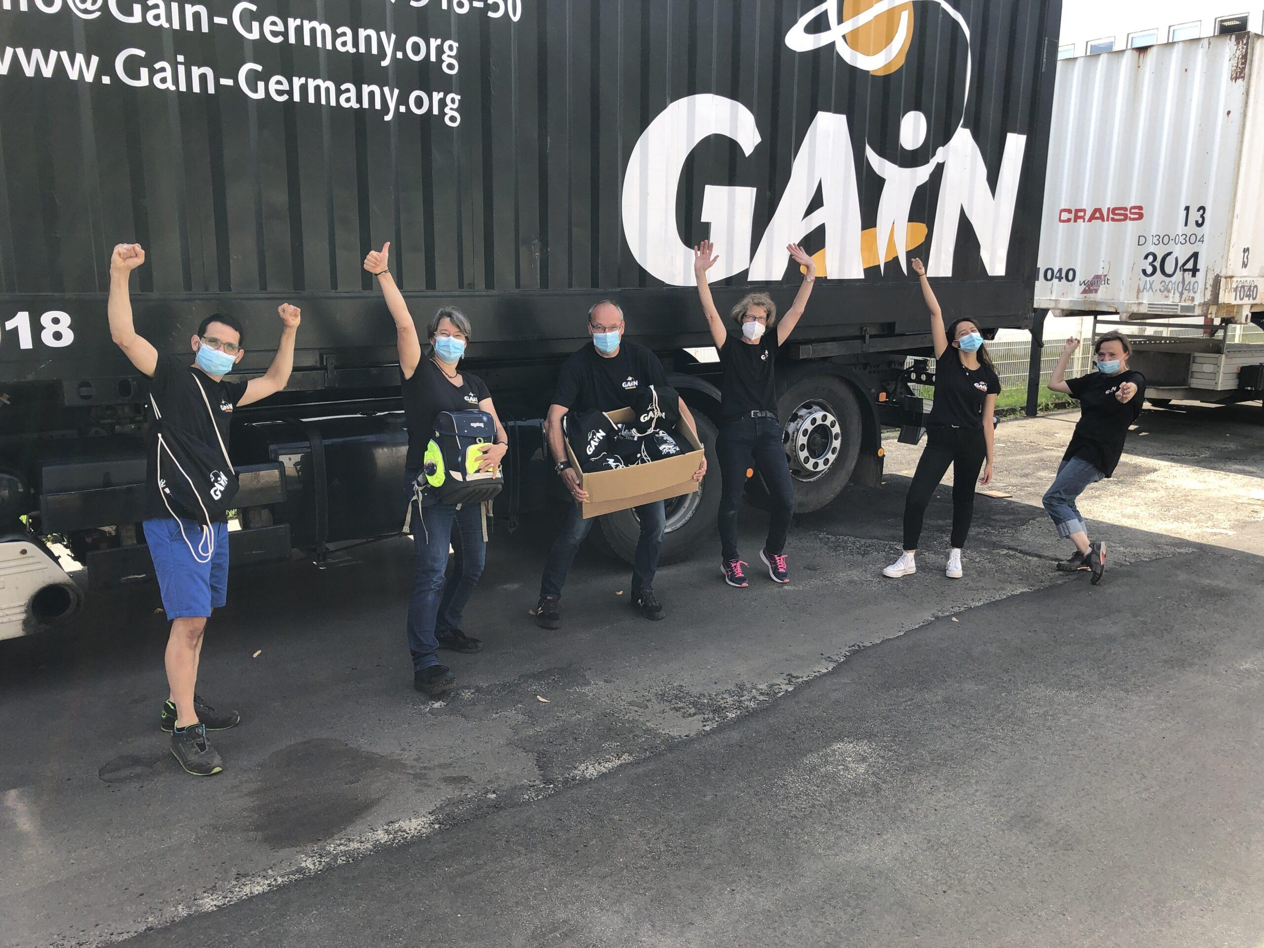 Gymbags für Flutopfer