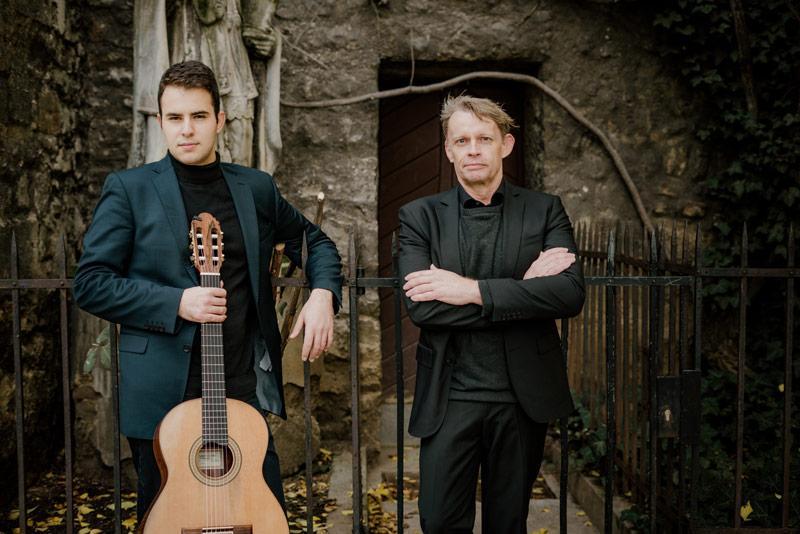 """David Štrbac und Hartmut Schulz sind am 11.9. mit John Dowlands """"A Pilgrim's Solace"""" zu Gast in der Kulturkirche"""