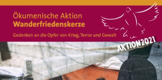 Ökumenische Aktion Wanderfriedenskerze am 19.9. um 18:30 Uhr in der Kulturkirche